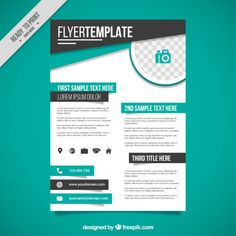 Powerpoint Flyer Template Carnavaljmsmusicco - Powerpoint flyer templates free