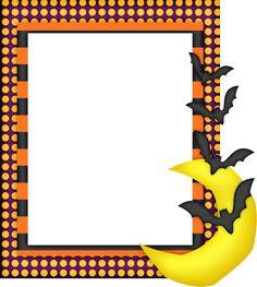 Halloween Free Printable Frames and Borders. Halloween Borders, Printable Frames, Borders And Frames, Bat Signal, Superhero Logos, Sailor Moon, Disney, Free Printables, Symbols