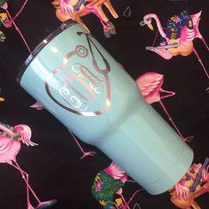 Custom Powder Coated Stethoscope Tumbler | Nurse Gift | Custom Nurse Cup…