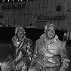 Vincent Lingiari (left) and Donald Nangiari - Two elders of the Gurindji tribe who visited capital cities in 1971 to campaign for Aboriginal land rights. Leaders of the Wave Hill Walk Off Mob.
