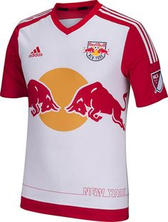 902c273a2c The New York Red Bulls 2015 Home Jersey introduces a fresh new design for Red  Bulls. Made by Adidas, the new New York Red Bulls 2015 Primary Kit boasts  ...