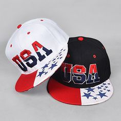 >> Click to Buy << 2015 New American Flag Snapback Hats Brand USA Letter Cotton Gorras Hip hop Snapback Caps Men Women Baseball Cap Bones For Adult #Affiliate