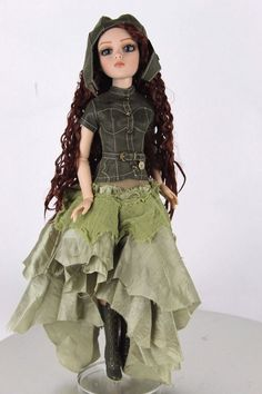 Tonner Doll - Wilde Imagination - Ellowyne Wilde - Amber Steamrolled 2010 Exclus #Tonner #Dolls