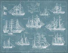 sailing ships and rigging (2)