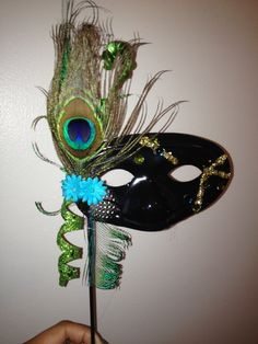 Guest peacock mask