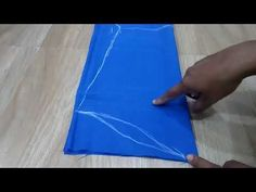 Sleeve Cutting In Simple MethodParfect sleeves cutting and stitchingFrom this video you can learn how to measure and cut the sleeves in simple and easy This . Cut Clothes, Sewing Clothes, Crochet Clothes, Chudidhar Neck Designs, Sleeve Designs, Stylish Dress Designs, Designs For Dresses, Bow Pattern, Pattern Cutting