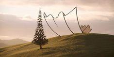 La scultura di Nuova Zelanda di Neil Dawson