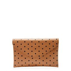 [J.Crew] dotty clutch