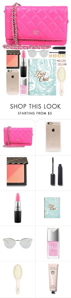 """""""What's in the bag"""" by monmondefou ❤ liked on Polyvore featuring Incase, Giorgio Armani, MAC Cosmetics, Fendi, Luv Aj, Christian Dior, L. Erickson, Bobbi Brown Cosmetics, women's clothing and women"""