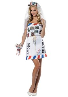 Mail Order Bride Costume - Funny Womens Halloween Costumes