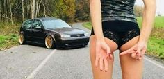 1 finger, one hole and no butt Trucks And Girls, Car Girls, Sexy Cars, Hot Cars, Vw Golf Vr6, Car Poses, Car Facts, Bmw Girl, Volkswagen Jetta