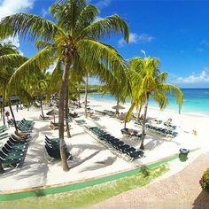 Peaceful beach day at #grandpineappleantigua
