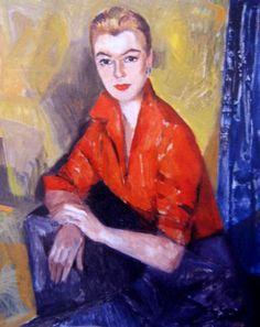 Portrait of a Lady Judy Cassab