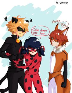 Nathaniel has a kwami ! and look who's jealous chat noir