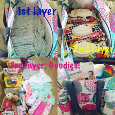 Baby shower gift. With a Zip-Top organizing tote bag from Thirty-One gifts