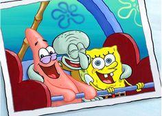 Sponge bob, Patrick, and Squidward!!!