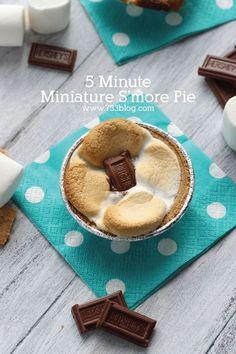 5 Minute Minature S'more Pie Recipe