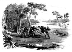 """Part five of """"The Bushrangers"""" tells the story of four escaped convicts, Beaven, Britton, Jefkins and Brown. Tasmania, The Past, Old Things, Australia, South Wales, History, Caves, Victorian, Painting"""