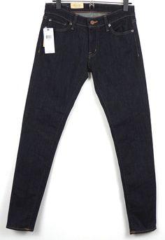 Denim & Supply Ralph Lauren Skinny Jeans Womens 28 x 30 Indigo Dark Wash $79.50 #DenimSupplyRalphLauren #SlimSkinny