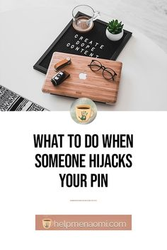 What to do When Someone Hijacks Your Pin Blogging For Beginners, Make Money Blogging, Pinterest Marketing, Social Media Tips, When Someone, About Me Blog, Don't Worry, Media Marketing, Digital Marketing