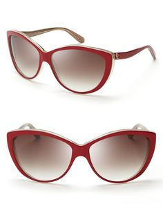 Alexander McQueen Cat Eye Sunglasses | Bloomingdale's