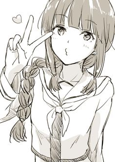艦これ~ haha shes cute manga girl