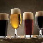 Libbey Glass 6- Piece Craft Brew Beer Tasting Glasses Set 6 Different NEW