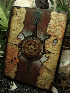 luthienthye:  ~ handmade books ~ Time Travel by Luthien Thye