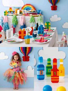 Ideen für den perfekten Regenbogen-Geburtstag - Artikel - Family LEGO.com