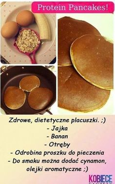 Snack Recipes, Dinner Recipes, Healthy Recipes, Snacks, Protein Pancakes, Health Diet, Healthy Eating, Healthy Food, Good Food
