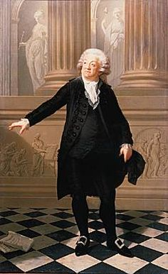 Mirabeau - moderate constitutional monarchist discovered to be in league with the King. Danton was allegedly in his pay.