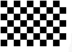 Sample chessboard to print.