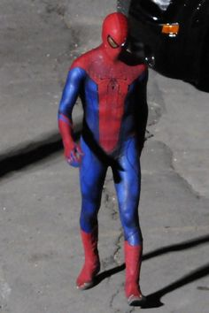 Andrew Garfield films Spider-Man