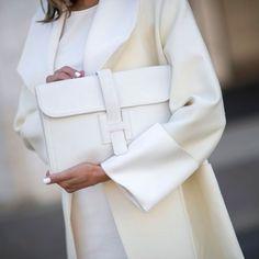 White on white at New York Fashion Week. Redonline.co.uk