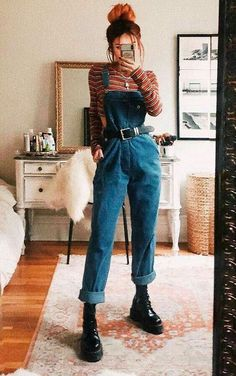 Indie Outfits, Cute Casual Outfits, Retro Outfits, Stylish Outfits, Vintage Outfits, Fashion Outfits, Grunge Outfits, Fashion Tips, Hipster Outfits