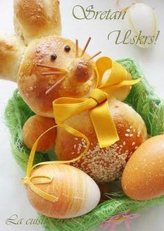 Uskrsnji zeka/Easter bunny bread