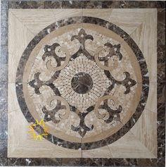 Amazon.com: Floor Marble Medallion Mosaic Tile 36 x 36 Inch.: Home & Kitchen