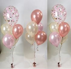 Clear Balloons, Confetti Balloons, Glitz And Glam, Balloon Decorations, Event Planning, Tassels, Tulle, Modeling, Tutu