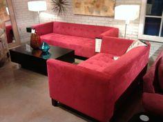 Our sofas...