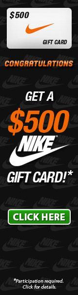Win the $500 Nike gift card! http://getinstantsuccess.com/nikegiftcard