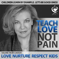 Thank you Valerie! Kids Learning, Campaign, Let It Be, Teaching, Learning, Education, Teaching Manners, Baby Learning