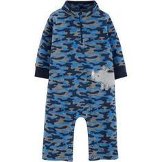 Child of Mine by Carter's Newborn Baby Boy Assorted Jumpsuits, Size: 3 - 6 Months, Green