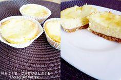 White Chocolate Cheesecake Muffins