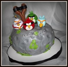 Angry Birds Space by BakerzJoy on Cake Central