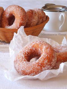 Ritroviamoci in Cucina: Lultimo fritto di Carnevale: Ciambelle alle Patate Dolci