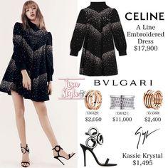 Kpop Fashion Outfits, Blackpink Fashion, Korea Fashion, Womens Fashion, Lisa, K Pop, Pink Outfits, Casual Outfits, Looks Teen