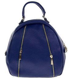 Blue Leather Handbag Leather Handbags, Fashion Backpack, Backpacks, Blue, Leather Totes, Backpack, Leather Purses, Backpacker, Backpacking