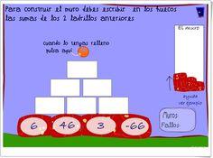 """Muro de sumas de números enteros 1"" (Juego de Matemáticas) Sumo, Games, Math, Projects, Maths Area, Interactive Activities, Math Games, Teaching Resources, Log Projects"