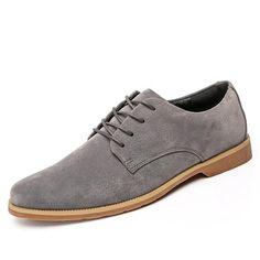 Men Shoes Casual Business Leather Flats Men s Shoes Spring Autumn Dress  Lace-Up Black Shoes Fashion 1baf0c0c43a