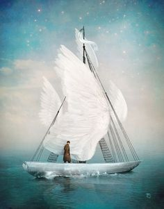 """""""Journey"""" Digital Art by Christian  Schloe buy now as poster, art print and greeting card.."""